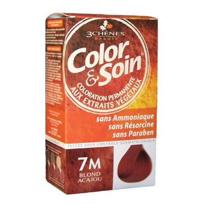 3 CHENES Color Soin Blond Acajou 7M