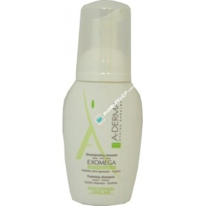 Exomega shampoing mousse 125 ml