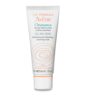 Avene Cleanance Masque Desincrustant 40 Ml