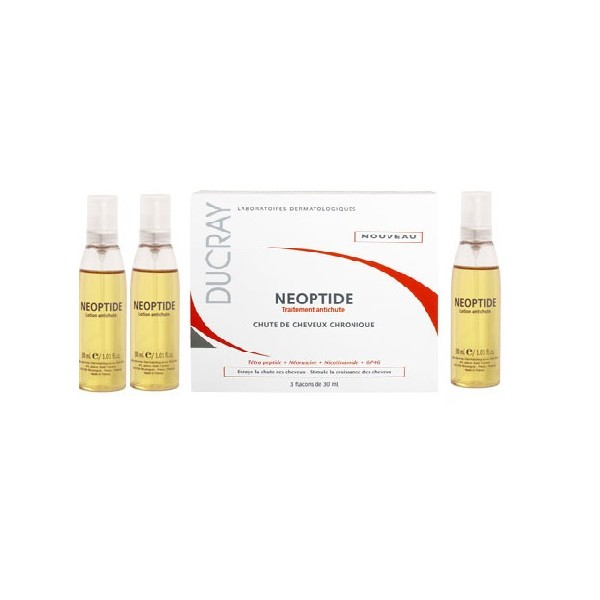 DUCRAY Neoptide lotion capillaire 30ml x 3