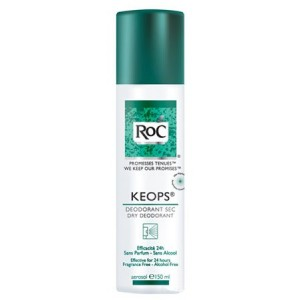 Keops Déodorant Sec spray 150ml