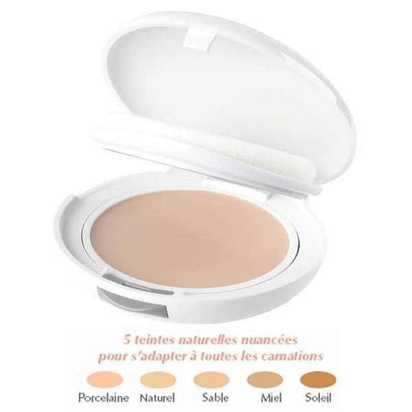 Avene couvrance confort compact sable 3